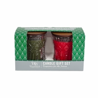 Frasier Fir / Crimson Berries 2-Pack Holiday Jeweled Gift Set by WoodWick