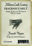 CLOSEOUT - French Thyme Fragrance Melt | Milkhouse Candle Creamery Closeouts