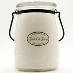Fresh Cut Fraser 22 oz. Butter Jar by Milkhouse Candle Creamery | 22 oz. Butter Jar Candles by Milkhouse Candle Creamery