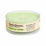 CLOSEOUT - Fresh-Cut Stems 1.4 oz. Sampler Candle Farm Grown Candle | Discontinued & Seasonal WoodWick Items!