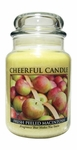 Fresh Peeled Macintosh 24 oz. Cheerful Candle by A Cheerful Giver | Cheerful Candle 24 oz. Jars by A Cheerful Giver
