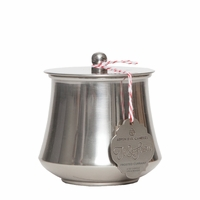 CLOSEOUT - Frosted Currant 6 oz. Holiday Tin by Aspen Bay Candles