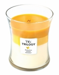 CLOSEOUT-Fruits of Summer WoodWick Trilogy Candle 10 oz. | Discontinued & Seasonal WoodWick Items!