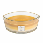 CLOSEOUT-Fruits of Summer WoodWick Trilogy Candle 16 oz. Hearthwick Flame | Discontinued & Seasonal WoodWick Items!