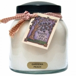 CLOSEOUT - Gardenia Peach 34 oz. Papa Jar Keeper's of the Light Candle by A Cheerful Giver | Keeper's of the Light 34 oz. Papa Jar Candles by A Cheerful Giver