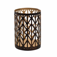 Geometric Petite Holder WoodWick Candle