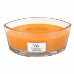 CLOSEOUT - Ginger Macaron WoodWick Candle 16 oz.  HearthWick Flame | Discontinued & Seasonal WoodWick Items!