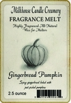 CLOSEOUT - Gingerbread Pumpkin Fragrance Melt by Milkhouse Candle Creamery | Milkhouse Candle Creamery Closeouts