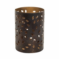 Glowing Leaf Petite Holder WoodWick Candle