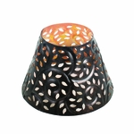 CLOSEOUT-Glowing Leaf Shade for 10 oz. WoodWick Candle | Discontinued & Seasonal WoodWick Items!