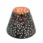 CLOSEOUT-Glowing Leaf Shade for 22 oz. WoodWick Candle | Discontinued & Seasonal WoodWick Items!