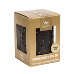 NEW! - Glowing Leaf with Vanilla Bean Petite Gift Set WoodWick Candle | WoodWick Gift Sets