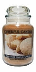 Gourmet Sugar Cookie 24 oz. Cheerful Candle by A Cheerful Giver | Cheerful Candle 24 oz. Jars by A Cheerful Giver