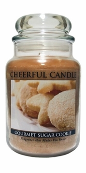 Gourmet Sugar Cookie 24 oz. Cheerful Candle by A Cheerful Giver