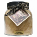Gourmet Sugar Cookie 34 oz. Papa Jar Keeper's of the Light Candle by A Cheerful Giver | Keeper's of the Light 34 oz. Papa Jar Candles by A Cheerful Giver