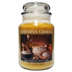 Grandma's Kitchen 24 oz. Cheerful Candle by A Cheerful Giver | Cheerful Candle 24 oz. Jars by A Cheerful Giver