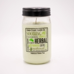 NEW! - Hibiscus Green Tea 24 oz. Swan Creek Kitchen Pantry Jar Candle | New Releases by Swan Creek Candle