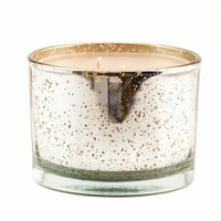 High Maintainance 16 oz. Stature Platinum on Gold Reflective Tyler Candle