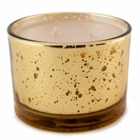 High Maintenance 16 oz. Stature Gold on Gold Reflective Tyler Candle