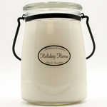 Holiday Home 22 oz. Butter Jar by Milkhouse Candle Creamery | 22 oz. Butter Jar Candles by Milkhouse Candle Creamery