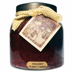 CLOSEOUT - Holiday Homecoming 34 oz. Papa Jar Keeper's of the Light Candle by A Cheerful Giver | Keeper's of the Light 34 oz. Papa Jar Candles by A Cheerful Giver