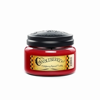 CLOSEOUT - Hollybery Spiced Toddy 10 oz. Small Jar Candleberry Candle
