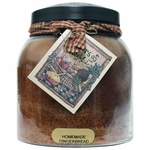 Homemade Gingerbread 34 oz. Papa Jar Keeper's of the Light Candle by A Cheerful Giver | Keeper's of the Light 34 oz. Papa Jar Candles by A Cheerful Giver