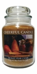 Honey Pear Cider 24 oz. Cheerful Candle by A Cheerful Giver | Cheerful Candle 24 oz. Jars by A Cheerful Giver