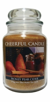 Honey Pear Cider 24 oz. Cheerful Candle by A Cheerful Giver