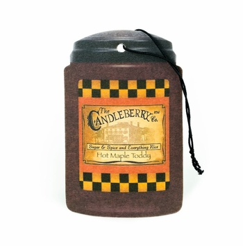 Hot Maple Toddy Fresh-Car-Go by Candleberry Candle