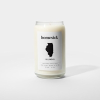 CLOSEOUT - Illinois 13.75 oz. Jar Candle by Homesick