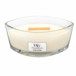 Island Coconut WoodWick Candle 16 oz. HearthWick Flame | HearthWick Ellipse Glass Candles