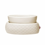 CLOSEOUT - Ivory Scallop Electric Warmer Colonial Candle | Colonial Candle Closeouts