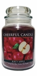 Juicy Apple 24 oz. Cheerful Candle by A Cheerful Giver | Cheerful Candle 24 oz. Jars by A Cheerful Giver