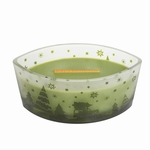 CLOSEOUT - Large HearthWick Flame Scenic Evergreen WoodWick Candle with Lid | Discontinued & Seasonal WoodWick Items!