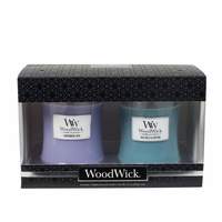 NEW! - Lavender Spa / Sea Salt & Cotton 10 oz. Candle 2-Pack Gift Set by WoodWick