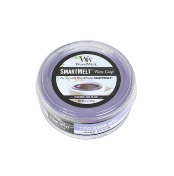 Lavender Spa Smart Melt Wax Cup by WoodWick Candle