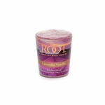 Lavender Vanilla 20-Hour Beeswax Blend Votive Candle by Root | 20-Hour Votives by Root
