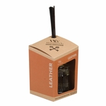 CLOSEOUT-Leather WoodWick Reserve Collection Reed Diffuser | Discontinued & Seasonal WoodWick Items!