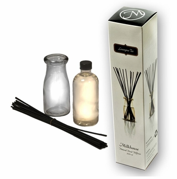 Lemongrass Tea Reed Diffuser by Milkhouse Candle Creamery