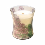 CLOSEOUT-~Lilac Botanical Hourglass WoodWick Candle | Discontinued & Seasonal WoodWick Items!