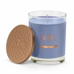 Lilac Sage Hive Glass Candle by Root | Hive Glass Candles by Root