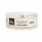 Linen Petite WoodWick Candle | WoodWick Petite Candles