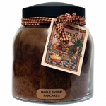 Maple Syrup Pancakes 34 oz. Papa Jar Keeper's of the Light Candle by A Cheerful Giver | Keeper's of the Light 34 oz. Papa Jar Candles by A Cheerful Giver