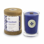 Meditate (Vetiver & Olibanum) Seeking Balance 6.5 oz. Candle by Root | Seeking Balance Spa Candles by Root