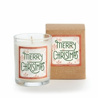 CLOSEOUT - Merry Christmas Glad Tidings Votive by Illume Candle