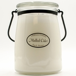 Mulled Cider 22 oz. Butter Jar by Milkhouse Candle Creamery | 22 oz. Butter Jar Candles by Milkhouse Candle Creamery