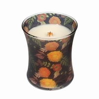 NEW! - Mums Fall Comforts Hourglass WoodWick Candle