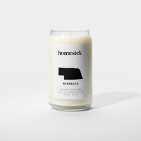 NEW! - Nebraska 13.75 oz. Jar Candle by Homesick