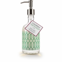 CLOSEOUT - NEW! - No. 25 Daphne Feather Moss 12 oz. Glass Refillable Hand Soap by Caldrea
